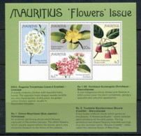Mauritius 1977 Flowers MS MUH - Mauritius (1968-...)