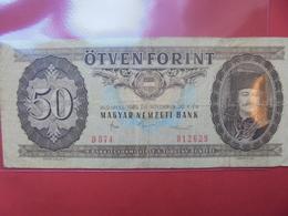 HONGRIE 50 FORINT 1986 CIRCULER - Hongarije