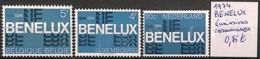 NB - [827644]TB//**/Mnh-Belgique 1974 - BENELUX, émissions Communes - Emissions Communes