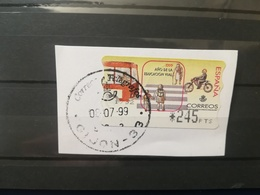 SPAGNA ESPANA AUTOMATICI AUTOMATIQUE VIGNETTE DISTRIBUTORI DISTRIBUTEURS LETTRE ATM AFFRANCATURE MECCANICHE ETICHETTE - Servizi