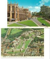 3053t: 2 AKs Windsor Castle, Ungelaufen - Windsor Castle