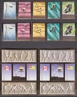 Togo 24.02.1976 PERF & IMPERF Mi # 1138-42 AB Bl 100 AB Montreal Summer Olympics MNH OG - Estate 1976: Montreal