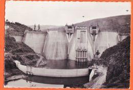 LUN079 Barrage De GRANDVAL 15-Cantal Fin Chantier Construction Vue Amont Prise Eau 1950s Photo-Bromure ANDRAL Murat - Autres Communes