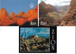 3053k: 3 AKs Berg Von Zion, Ungelaufen - Israël