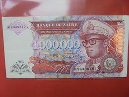ZAIRE 1.000.000 ZAIRES 1992 CIRCULER - Zaire