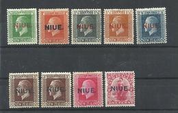 NIUE  YVERT  12/20   MH  * - Niue