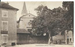 ///   FRONTONAS    ( ISÈRE )  L 'EGLISE - France