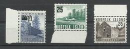 NORFOLK  YVERT  45/47  MNH  ** - Isla Norfolk