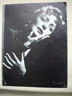 Programme EDITH PIAF Avec Felix Marten Préface De Jean Cocteau Et Marcel Achard En 1958 - Autographes