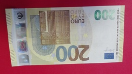 NEW 200 EURO - FRANCE U003 Série Europa... - UNC NEUF - 200 Euro