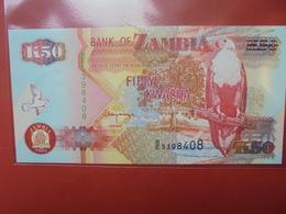 ZAMBIE 50 KWACHA 1992-2010 PEU CIRCULER/NEUF - Sambia