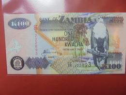 ZAMBIE 100 KWACHA 1992-2011 PEU CIRCULER/NEUF - Zambie