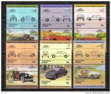 F2585- Set MNh Nukuylaelae Tuvalu - Cars - - Auto's