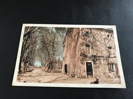 4 - MAILLANE Le Mas Du Juge Où Est Né, Le 8 Septembre 1830 Le Poete Frederic Mistral - 1938 Timbrée - France