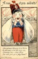 MILITARIA - Carte Postale Patriotique - Illustrateur Clément - L 30124 - Patriottisch