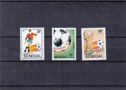 Senegal - Michel 781 + 783 / 4 ** - Football - Championnat Mondial Espana 82 - Coupe - Senegal (1960-...)