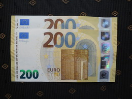 200 Euro/ 2019 , UD - U004 E5, France, M. DRAGHY, UNC NEUF FDS - EURO