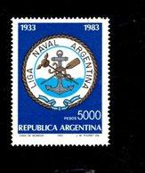 775435841 1983 SCOTT  1414   POSTFRIS  MINT NEVER HINGED EINWANDFREI  (XX) - NAVAL LEAGUE EMBLEM - Argentinien