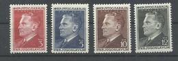 YUGOSLAVIA YVERT  544/47  MH  * - 1945-1992 República Federal Socialista De Yugoslavia