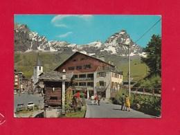 CARTOLINA VG ITALIA - CERVINIA BREUIL (AO) - Scorcio Panoramico - 10 X 15 - ANN. 1980 - Altre Città