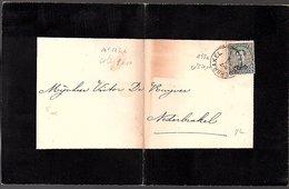 Overlijden Nathalie Leleu Opbrakel 1921  (643) - Lettres & Documents