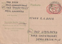 ALLEMAGNE   ZONE AAS 1946   ENTIER POSTAL/GANZSACHE/POSTAL STATIONERY  CARTE DE ROTHENFELDE - Zone Anglo-Américaine