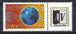 France, Timbre Personnalisé, Année 2002, N° 3532 Aa ** ( Sans Bande De Phosphore ) - France