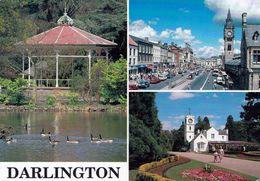 1 AK England * Ansichten Der Stadt Darlington - South Park - High Row - South Park - Grafschaft Durham * - Durham