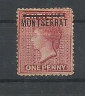 MONTSERRAT YVERT 1   MH  * - Montserrat