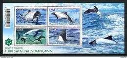 TAAF 2014 N° F710 ( 710/713 ) ** Neufs MNH Superbes Faune Marine - Blocs-feuillets
