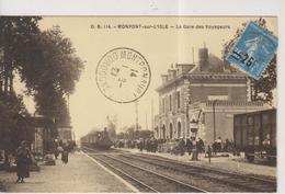 CPA-24-Dordogne- MONPONT-sur-L'ISLE- La Gare Des Voyageurs- - Altri Comuni