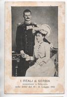 I REALI DI SERBIA ASSASSINATI A BELGRADO NELLA NOTTE DEL 10-11 GUIGNO 1903 - Serbia