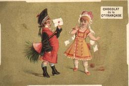 C 6183 - Publicité   Chocolat De La Compagnie Française - Cioccolato