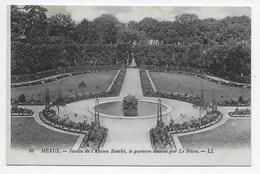 DC 1487 - MEAUX - Jardin De L'Ancien Evêché, La Parterre Par Le Nôtre - LL 85 - Meaux