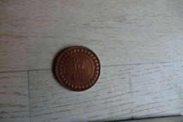 Monnaie De Tunisie 10 Centimes 1917 En Bronze Muhammad Al-nasir - - Tunisie