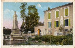 FOURTIC - La Mairie Et Le Monument Aux Mortss Pour La Patrie  (114145) - Autres Communes