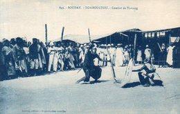 Soudan,Cpa Tombouctou,Combat De Touareg - Sudan