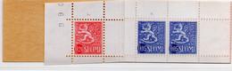 PIA - FINLANDIA  - 1965 : Carnet D 0,50con Francobollo Di Uso Corrente Leone Rampante  - (Yv C534B II) - Libretti