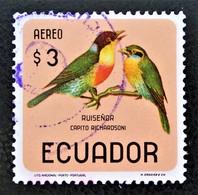 OISEAUX - CAPITO 1966 - OBLITERES - YT PA 447 - Equateur