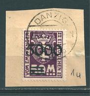 MiNr. P 26 Briefstück - Danzig