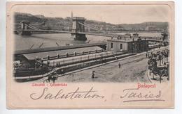 BUDAPEST - LANCZHILD - KETTENBRÜCKE - Hungary