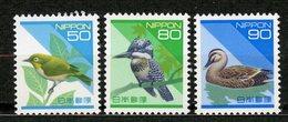 Japan, Yvert 2079/2081, MNH - 1989-... Empereur Akihito (Ere Heisei)