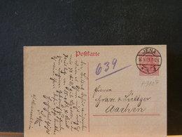 A9107 CP ALLEMAGNE 1919  OBL. JENA - Germany