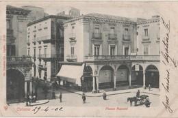 CPA Italie. Sicile. CATANE. Catania. Piazza Mazzini - Catania