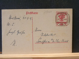 A9111  CP   ALLEMAGNE 1919  HEILBRONN - Entiers Postaux