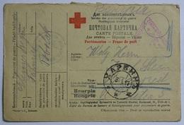 Cartolina Postale Croce Rossa Prigionieri Di Guerra  1917 (Wurt10 - Militaria