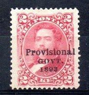 APR1293 - HAWAII 1893 , Yvert N. 55  *  Linguelle Pesanti - Hawaii