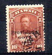 APR1294 - HAWAII 1893 , Yvert N. 57  Usato (2380A) - Hawaii