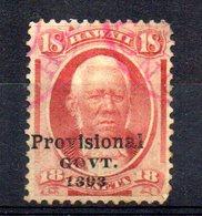 APR1295 - HAWAII 1893 , Yvert N. 60  Usato (2380A) - Hawaii