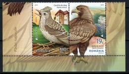 "RUMANIA /ROMANIA /RUMÄNIEN -EUROPA 2019 -NATIONAL BIRDS.-""AVES -BIRDS -VÖGEL -OISEAUX""- SERIE B- PROCEDE BF 2 - 2019"